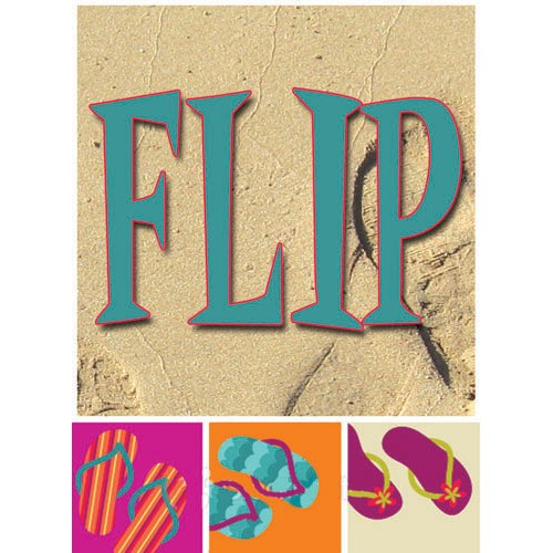 Flip Flopped Flip Sign