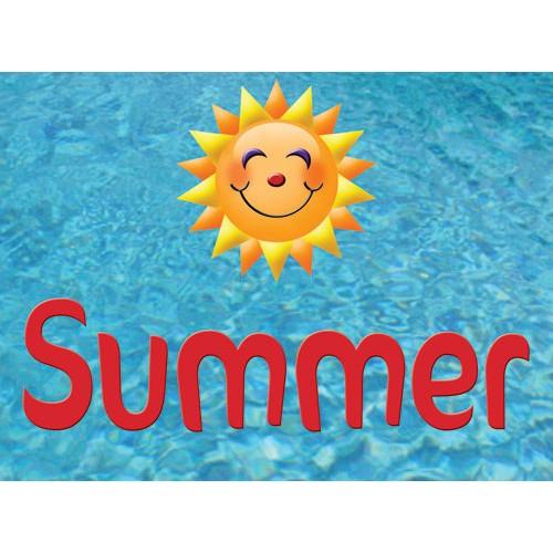 Splash In Summer Sign