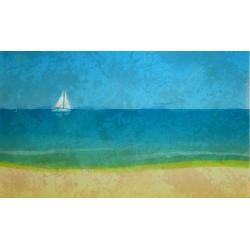 Blue Sea Artwork