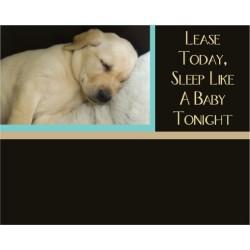Puppy Headboard Graphic
