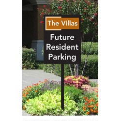 Future Resident Parking Sign
