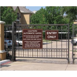 Access Gate Signs