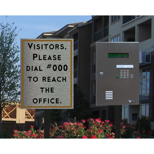 Custom Keypad Sign