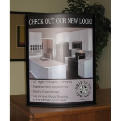 Large Counter Top Sign Frame