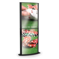 Tower Double Sign Holder