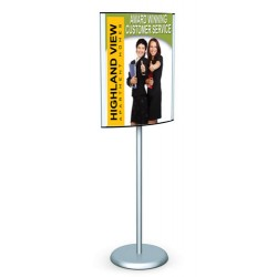 Pedestal Sign Holder