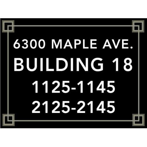 Large  Building Number