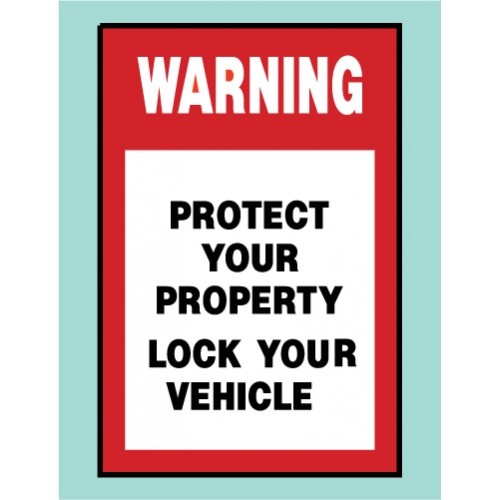 Protect Your Property Sign