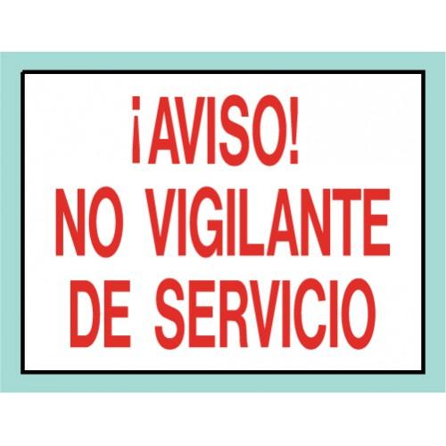 Spanish Warning No Lifeguard Sign
