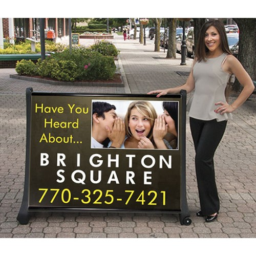Large Portable Sign