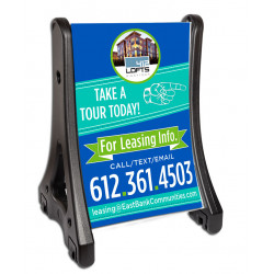 Easy A PLUS-Frame Sign