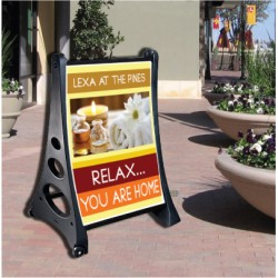 Easy A-Frame Sign