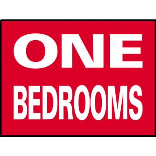 Big Ole Red One Bedroom Sign