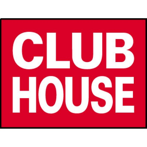 Big Ole Red Club House Sign