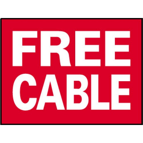 Big Ole Red Free Cable Sign