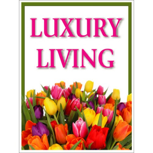 Bouquet Luxury Living Sign