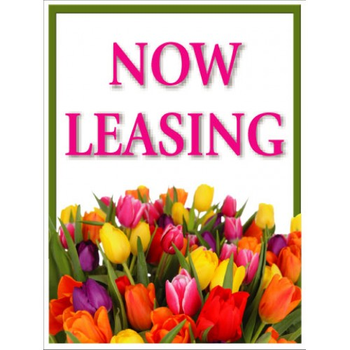 Bouquet Now Leasing Sign