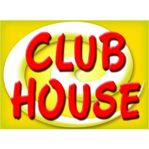 Bright and Bold Club House Sign