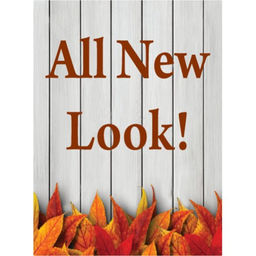Fall Gate New Look Sign