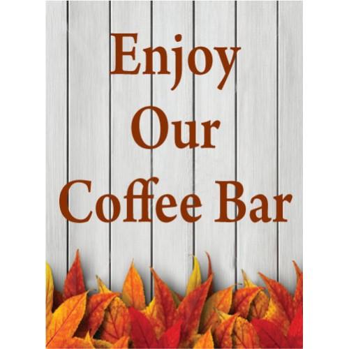 Fall Gate Coffee Bar Sign