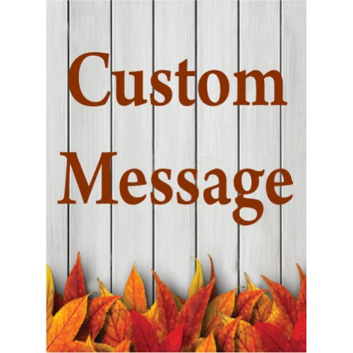 Fall Gate Custom Sign