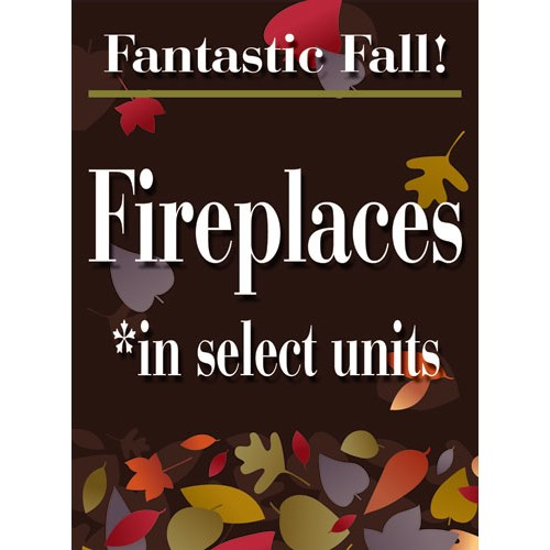 Fantastic Fall Fireplace Sign