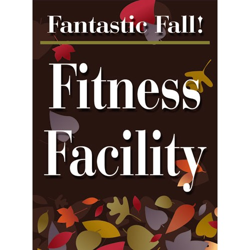 Fantastic Fall Fitness Sign