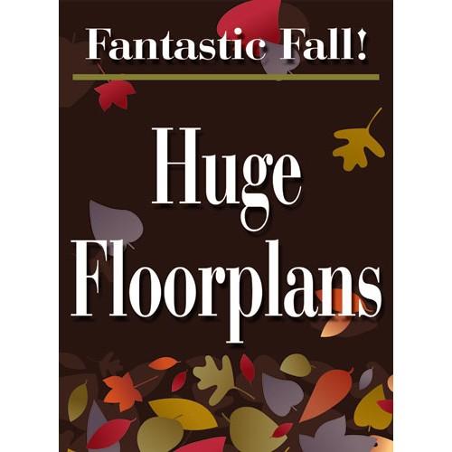 Fantastic Fall Floorplans Sign