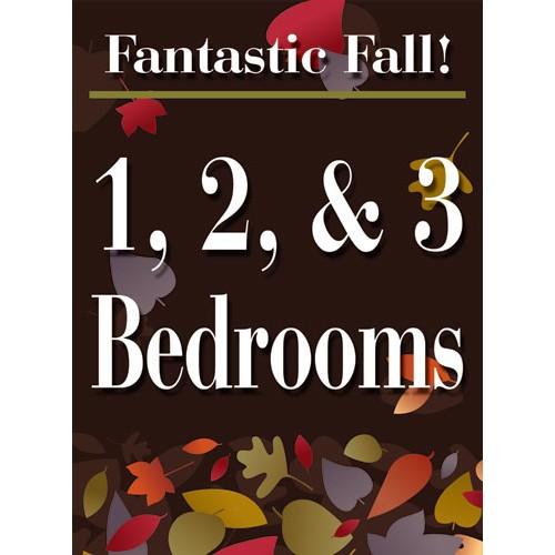 Fantastic Fall 1 2 3 Bedroom Sign