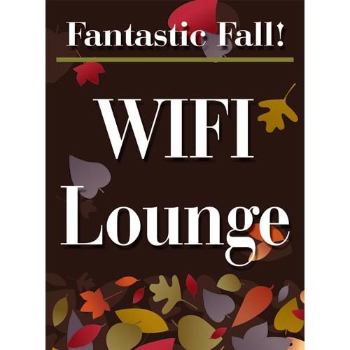 Fantastic Fall Wifi Sign