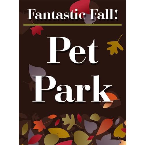 Fantastic Fall Pet Park Sign