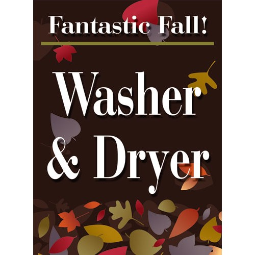Fantastic Fall Washer Dryer Sign