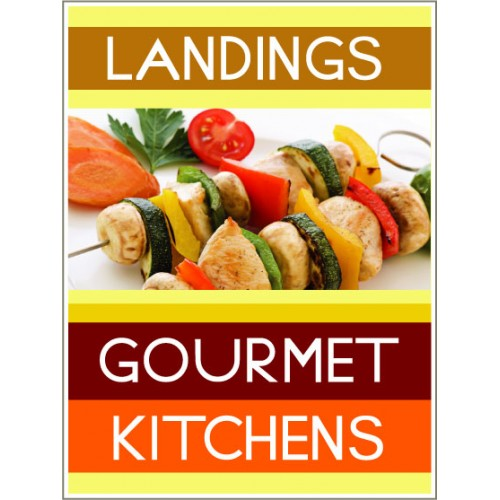 Fresh Approach Gourmet Sign