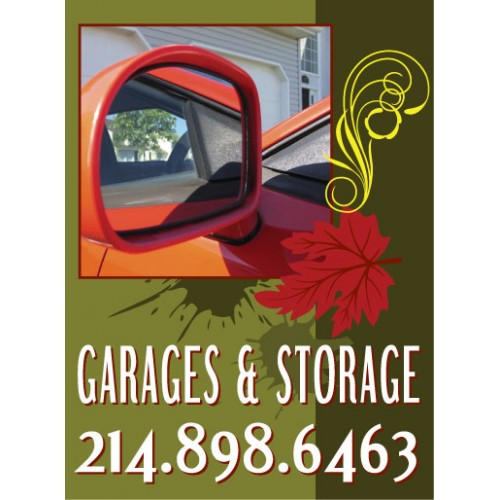 Live Smart Garages Sign