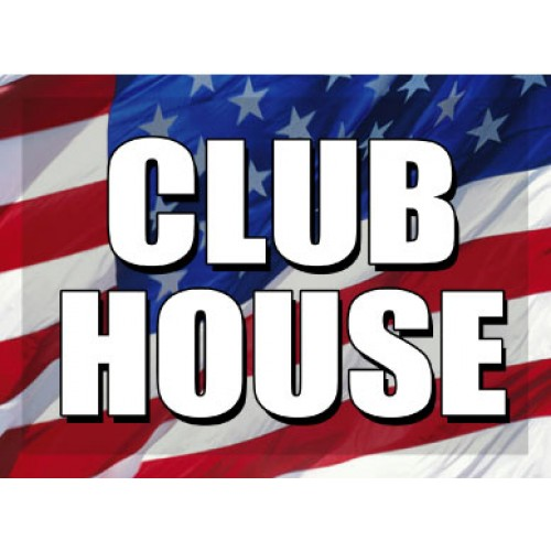 O Say Can You See Club House Sign