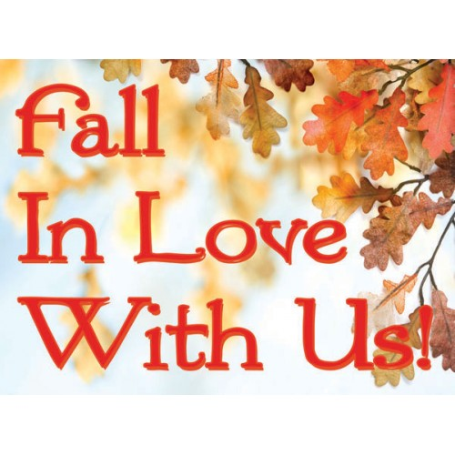 Fall In Love Sign