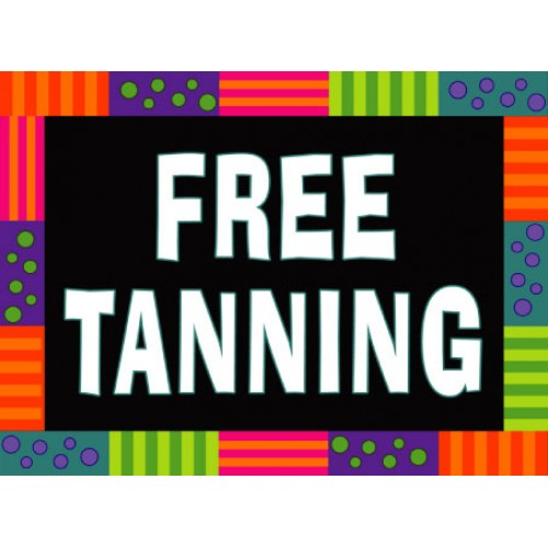 Party Favor Free Tanning