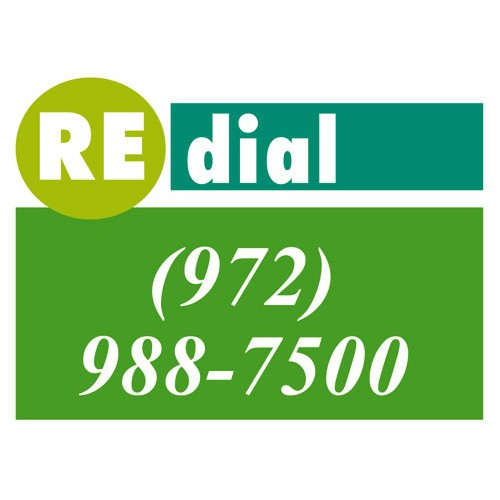 Redial Sign