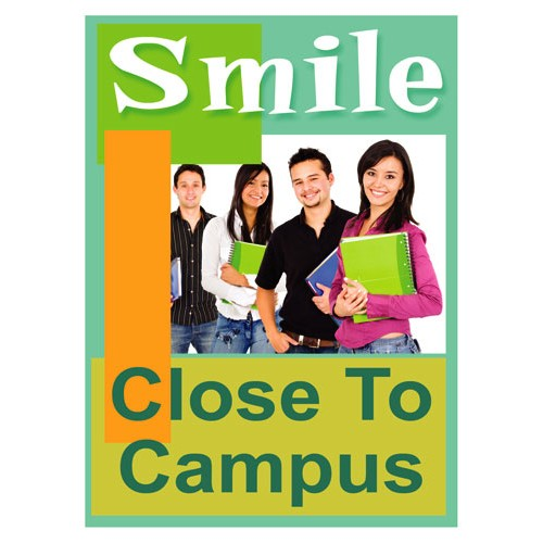 Smile Campus Sign