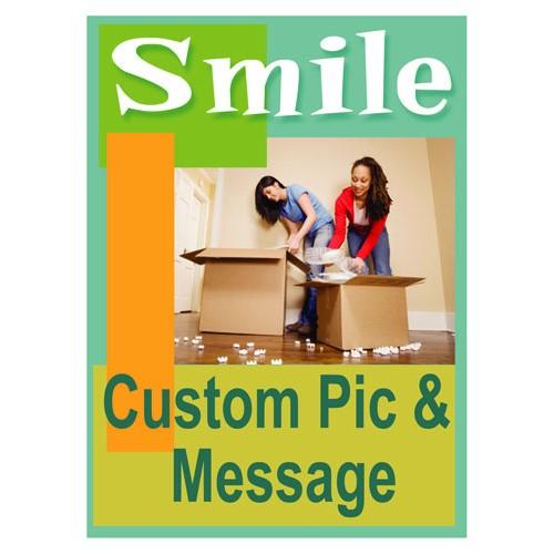 Smiles Custom Sign
