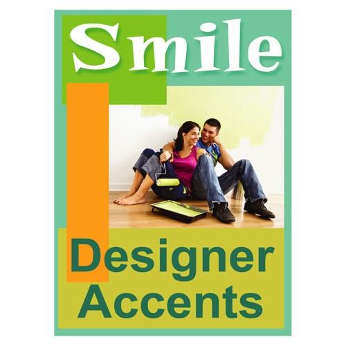 Smiles Designer Accent Sign