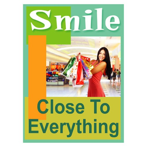 Smiles Everything Sign