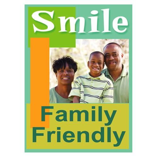Smiles Family Sign
