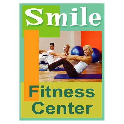 Smiles Fitness Center Sign