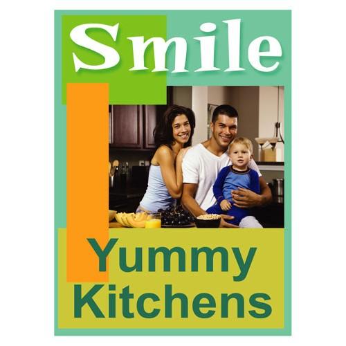 Smiles Kitchen Sign