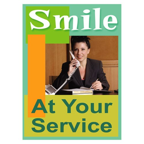 Smiles Service Sign
