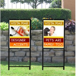 Sign Frames and Holders