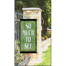Marble Light Post Banners