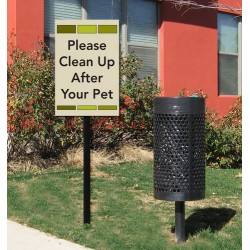 Pet Cleanup Signs