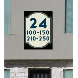 Apartment Building Numbers